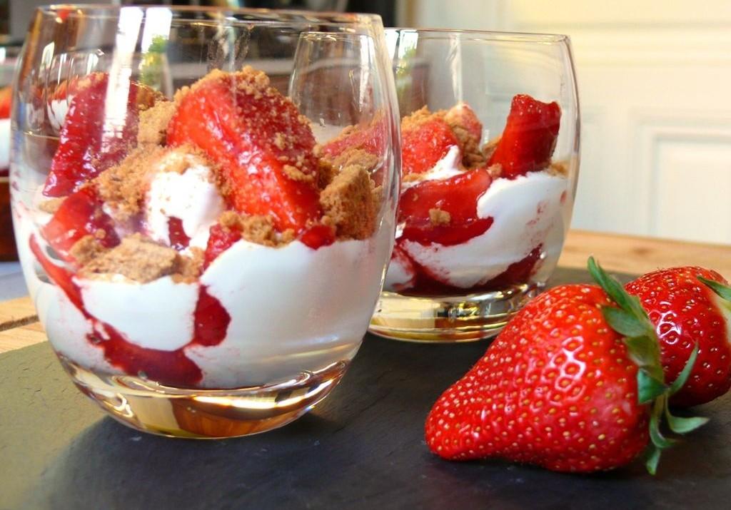 verrine fraise mascarpone recette az. Black Bedroom Furniture Sets. Home Design Ideas