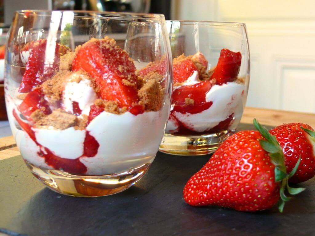 verrine fraise mascarpone recette az. Black Bedroom Furniture Sets. Home Design Ideas