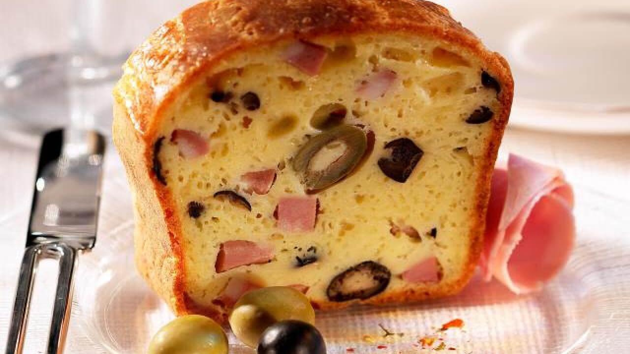 Recette Cake Jambon Olive Recette Az
