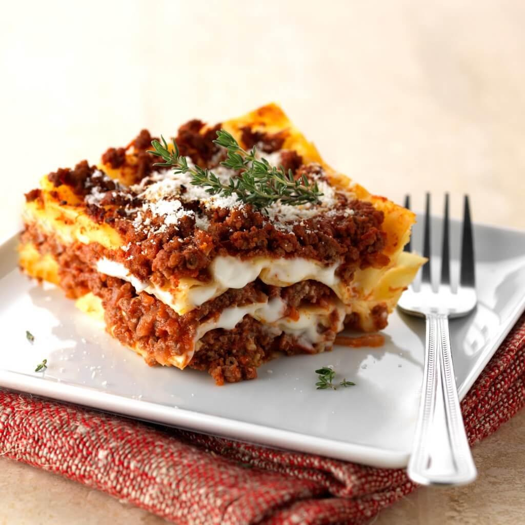 Lasagne bolognaise recette az - Cuisine italienne cannelloni ...