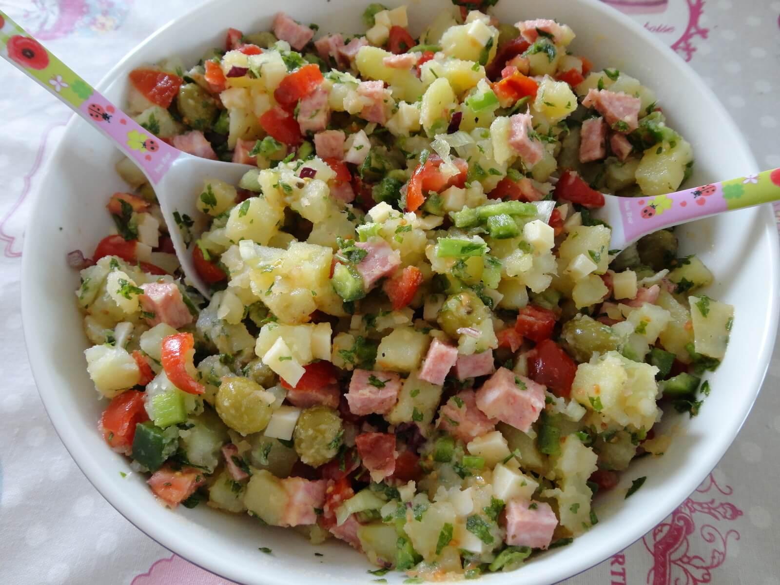 Salade de pommes de terre à l'italienne - Recette AZ