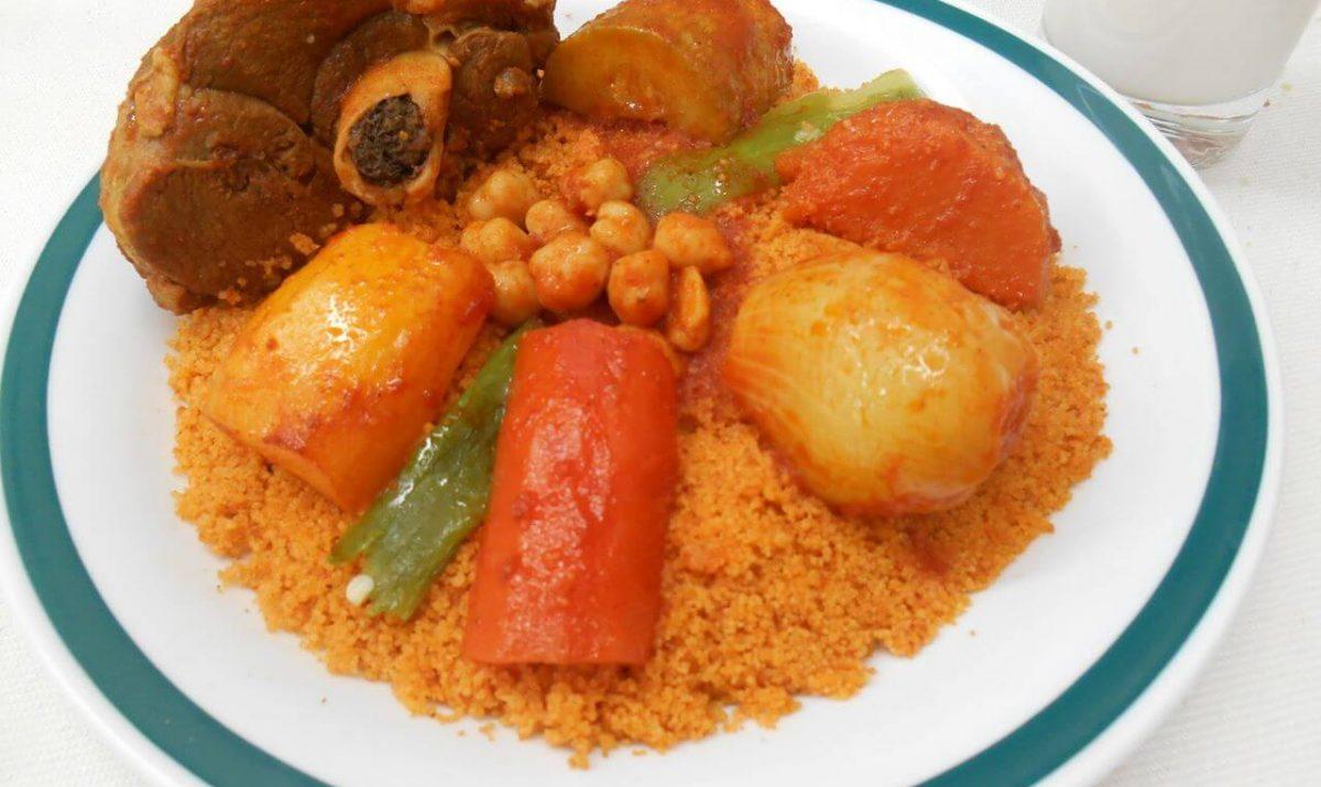 Couscous l 39 agneau recette az - Recette cuisine couscous tunisien ...