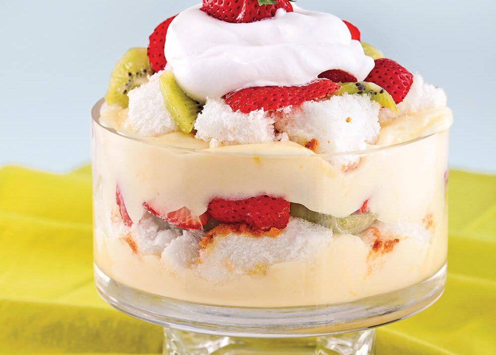 Bagatelle fraises-vanille