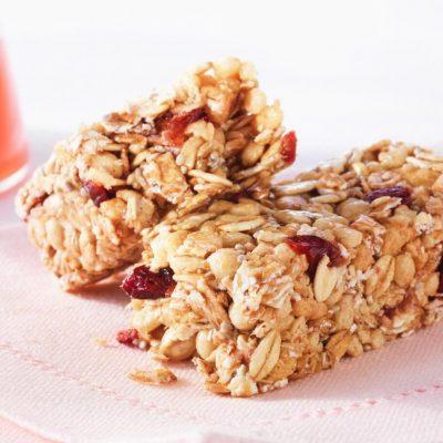 Barre granola fruitée