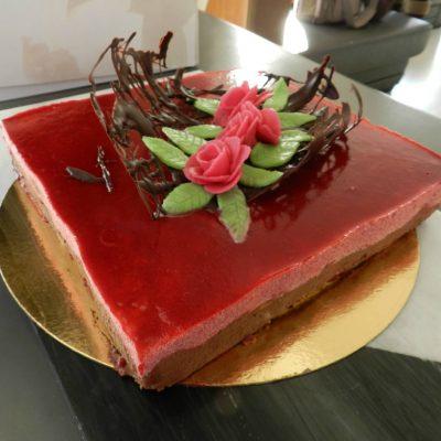 Recette dessert v rines g teaux page 5 sur 11 de a z for Miroir aux framboises