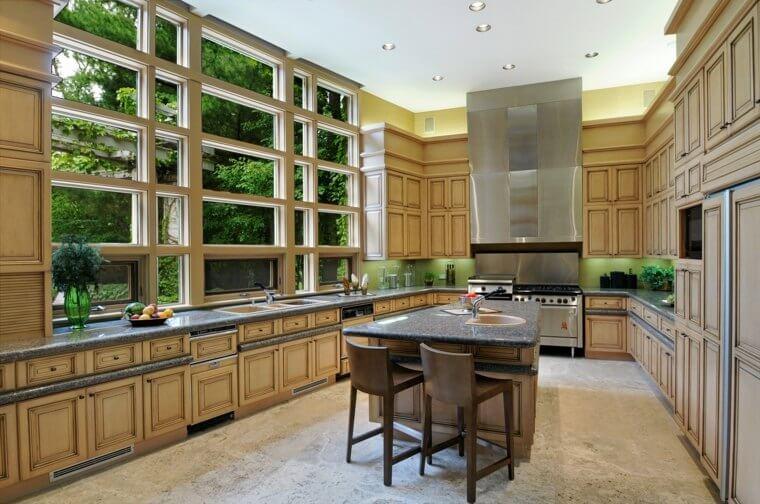 cuisine-zen-decoration-contemporaine-bois