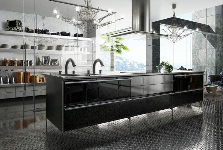 Cuisine Zen Et Design Moderne 25 Modèles Impressionnants Recette Az