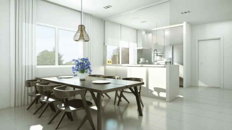 idee-cuisine-blanche-deco-zen-meubles-bois