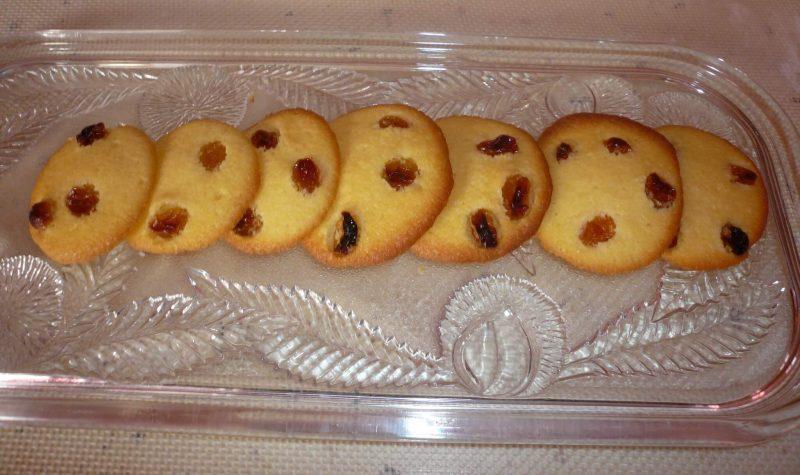Palets aux raisins