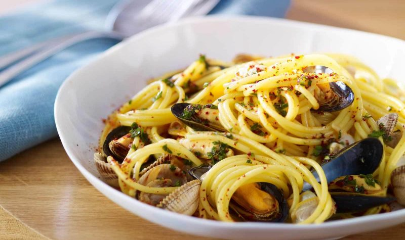 Spaghetti aux coquillages