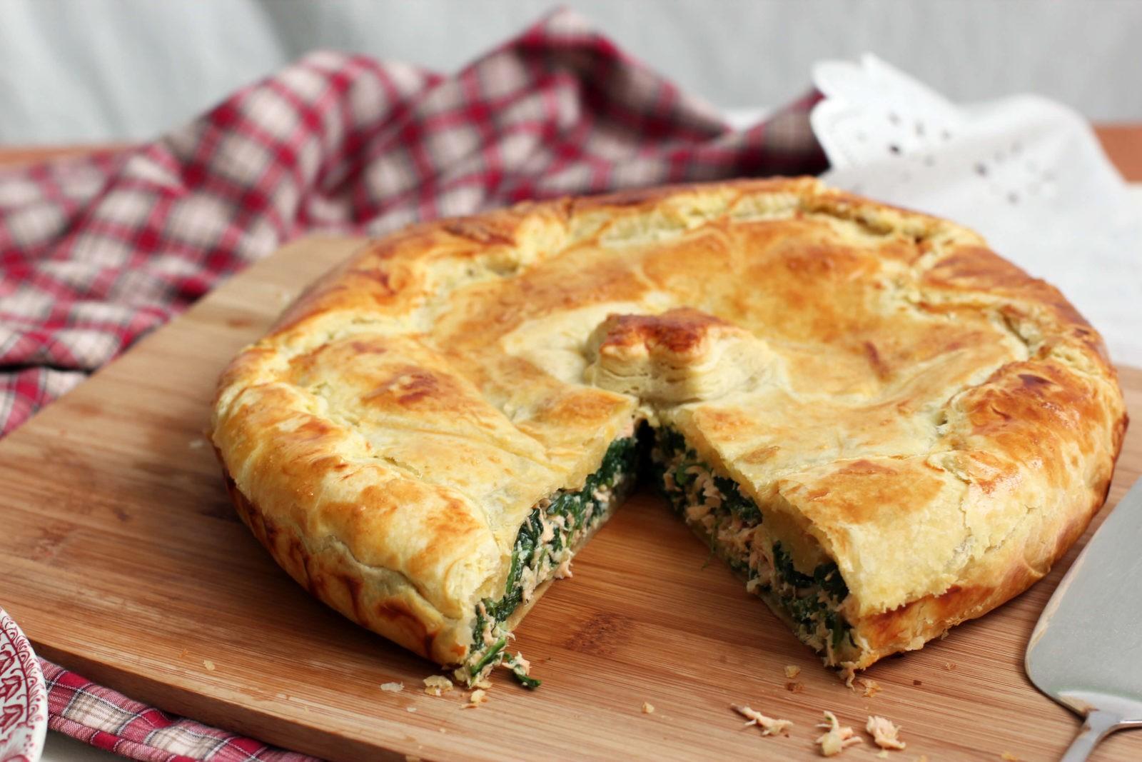 Пироги из слоеного теста с сыром фото рецепт пошаговый