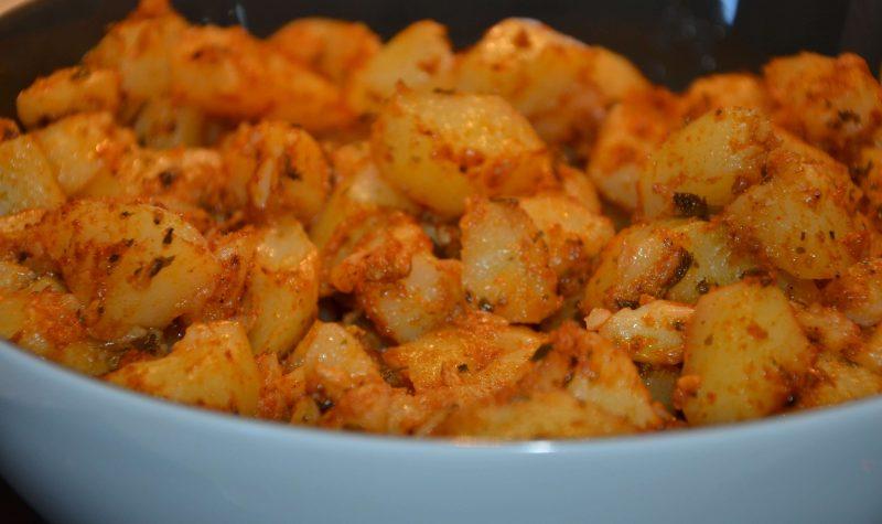 Pommes de terre à la chermoula