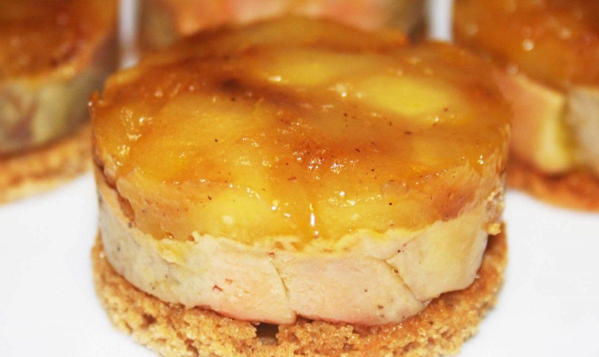 Tartelettes au foie gras