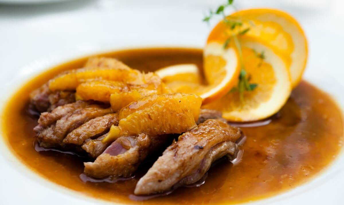 canard a l orange recette az