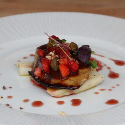 Escalope foie gras a la plancha