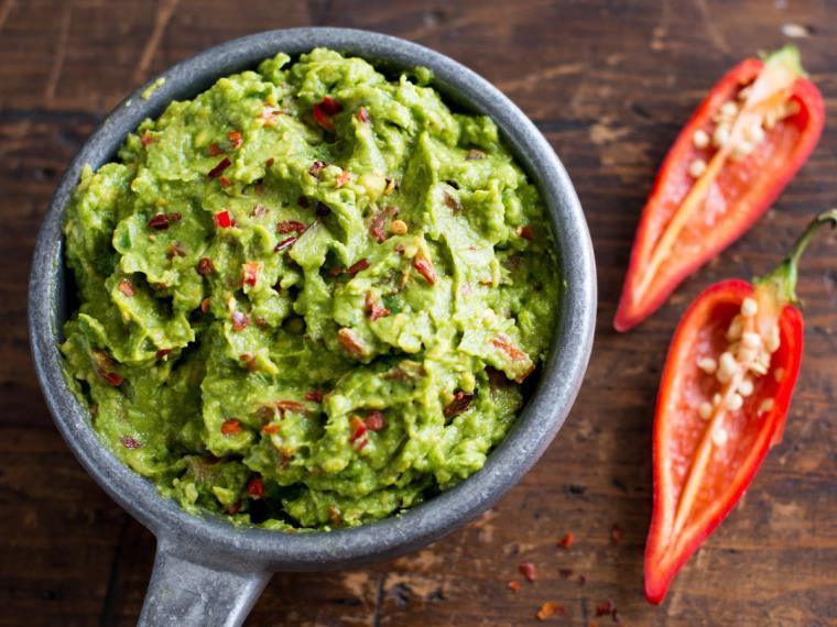 guacamole-avocat-entree-typique