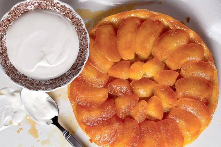 idee-recette-tarte-tatin-creme-anglaise