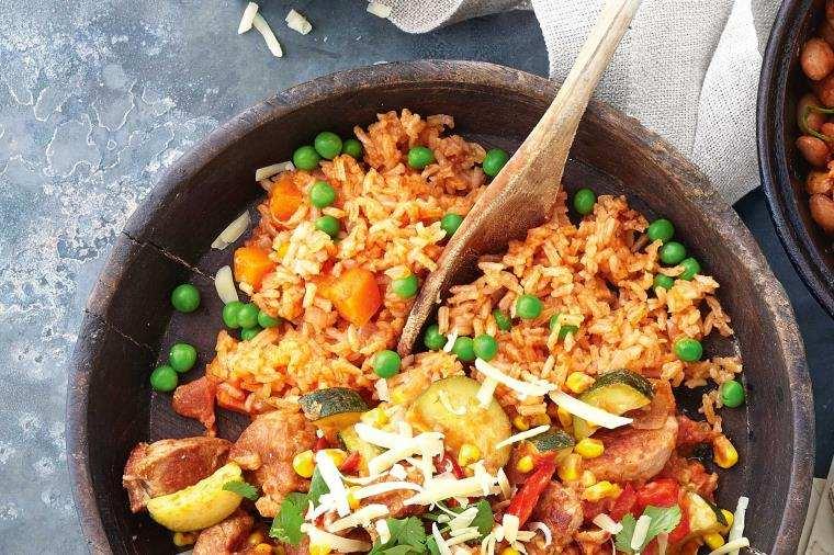 plat-riz-mexique-legumes
