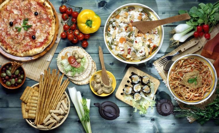 régime méditerranéen fibres-proteines-antioxydants
