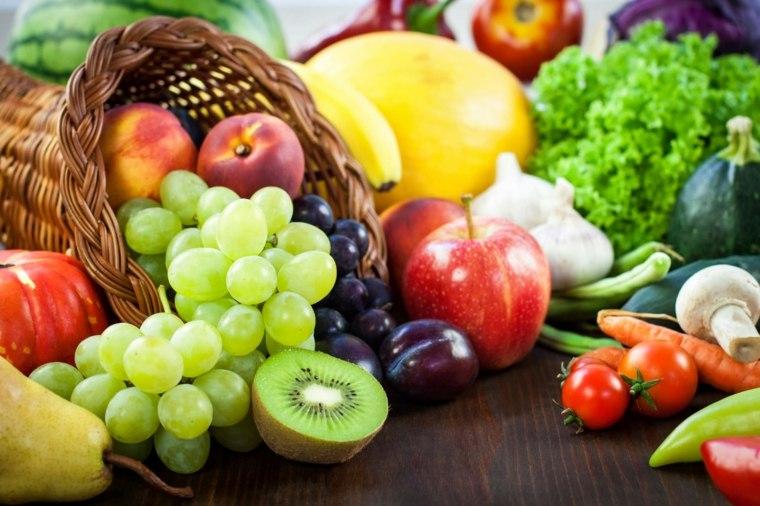 régime méditerranéen fruit-legumes