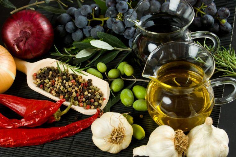 régime méditerranéen fruits-epices
