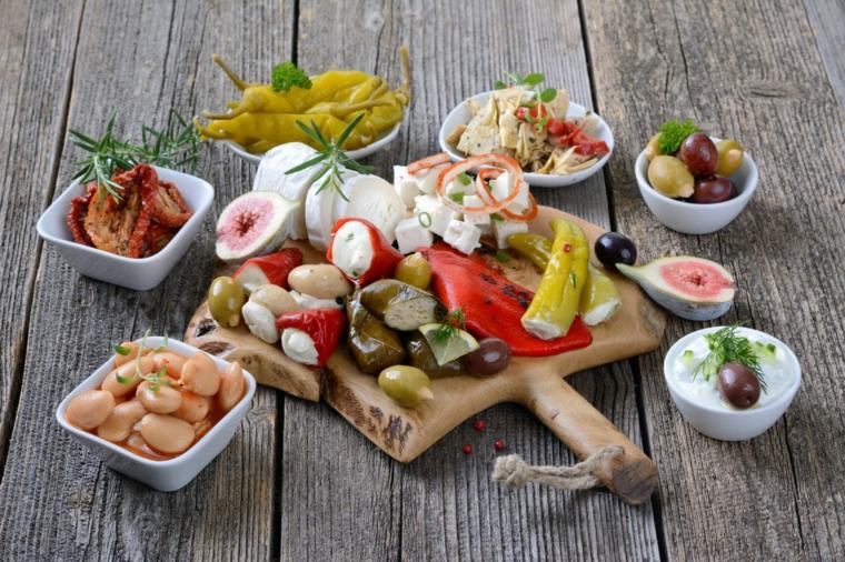 régime méditerranéen ingredients-preparer