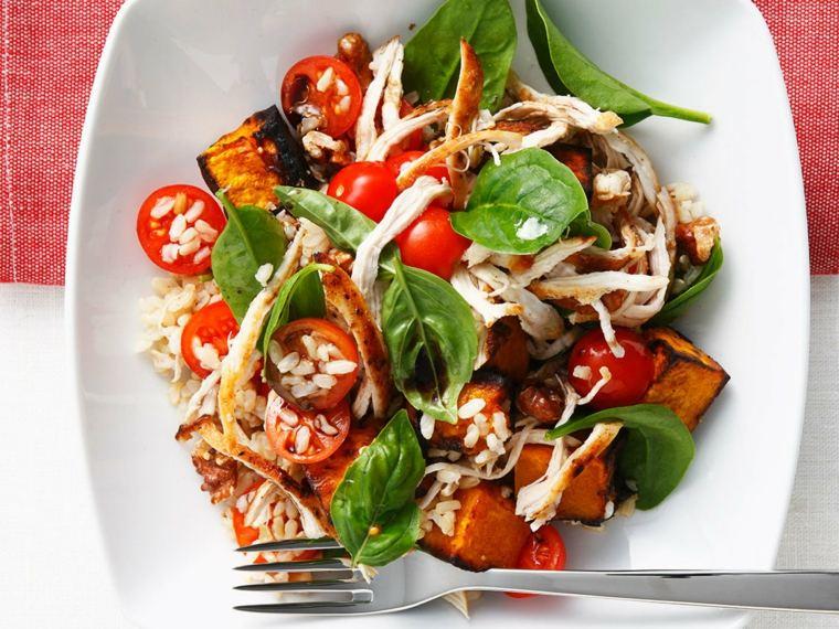 régime méditerranéen legumes-grilles-salade