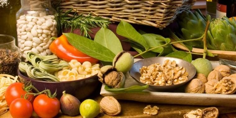 régime méditerranéen legumes-noix