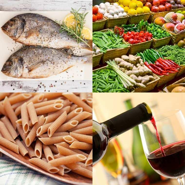 régime méditerranéen legumes-poisson-fibres-vin