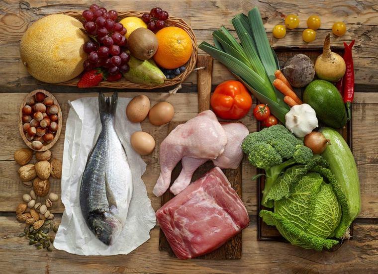 régime méditerranéen viande-poisson-poulet-legumes