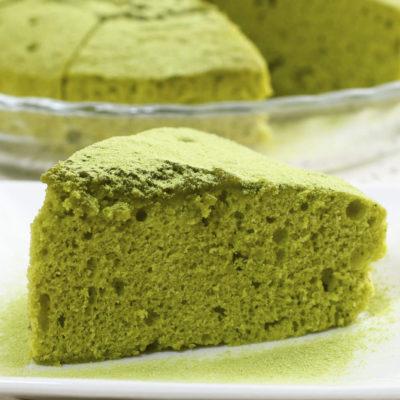 Cake salé au thé vert