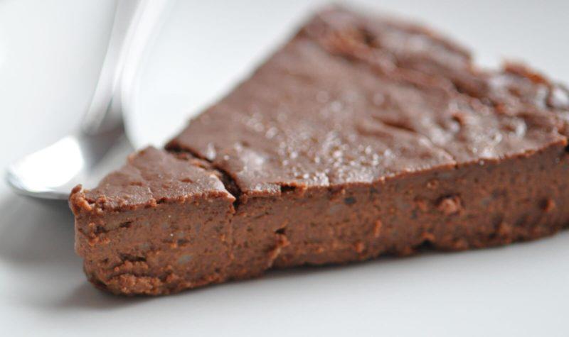 Gâteau flan chocolat