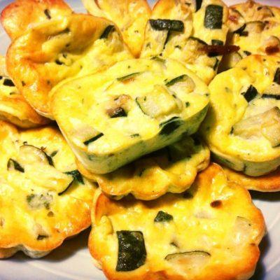 Clafouti aux courgettes et parmesan