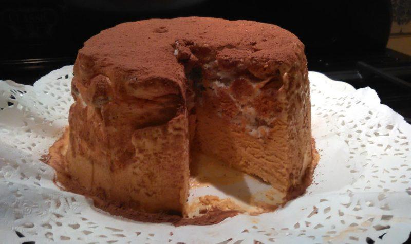 Glacé au pain d'épice et à la chicorée