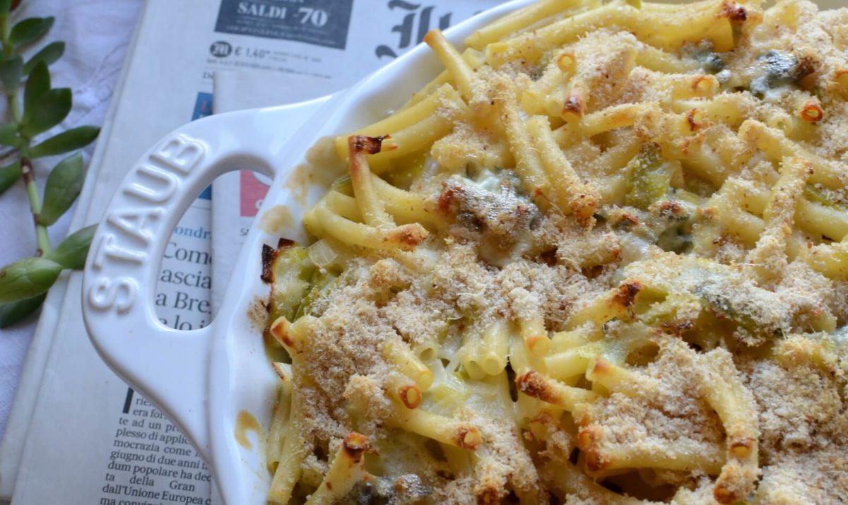 Gratin de macaroni végétarien