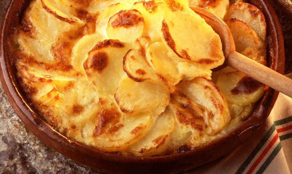 Pommes de terre au Cantal