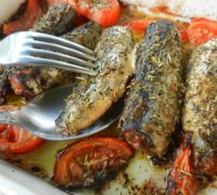 Recette Sardines au four
