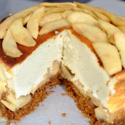 Cheesecake light à la pomme