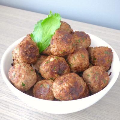 Boulettes de viande cuites à l'italienne
