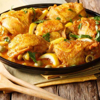 Ragoût de poulet marocain