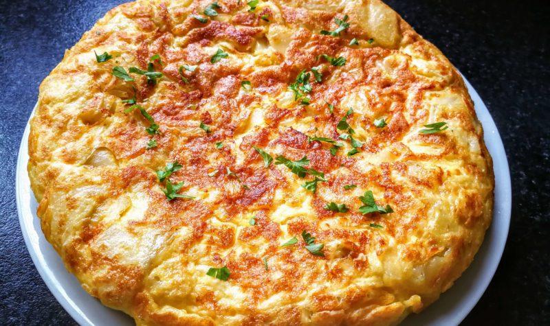 Omelette espagnole allégée