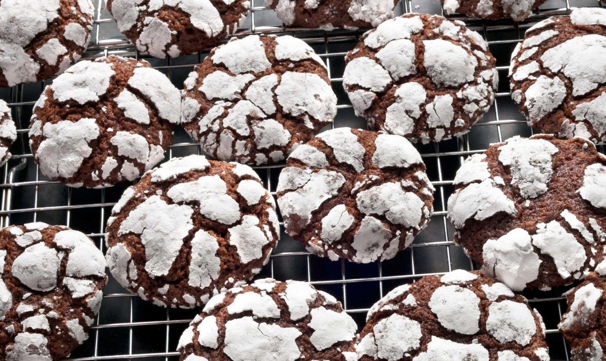 Biscuits croustillants de Noël