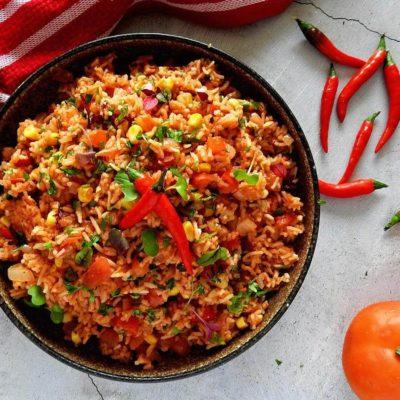 Riz mexicain à la tomate