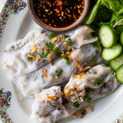 Banh Cuon (crêpes vietnamiennes)