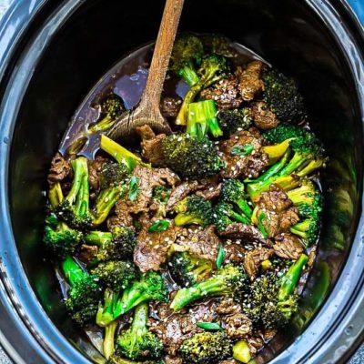Bœuf en pot et brocoli