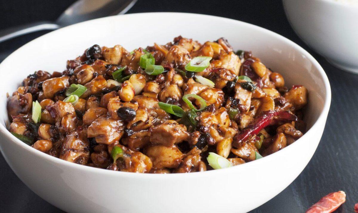 Poulet en dés à la sauce aux haricots noirs