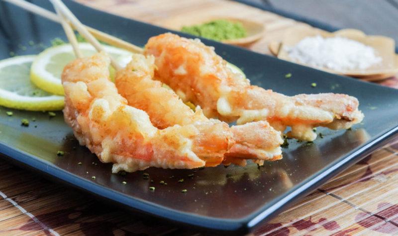 Tempura de crevettes à la japonaise