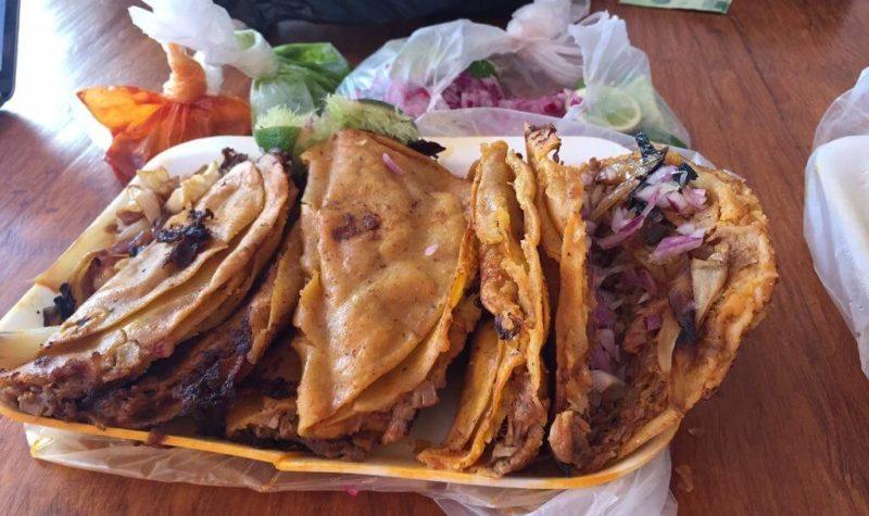 Tacos dorés au barbecue