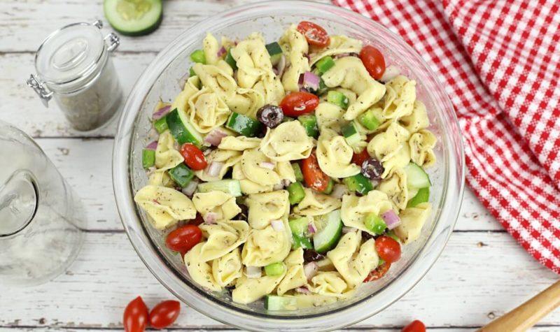 Salade de tortellinis facile